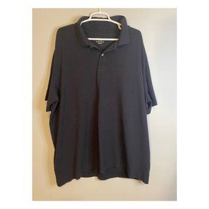 The Outfitters by Land's End Navy Blue Polo